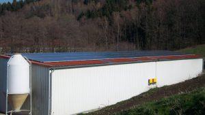 Große Solaranlage AGRAR Landrock