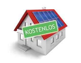 Solaranlage oder Photovoltaikanlage kostenlos