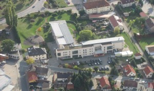 Bild 02 -Solaranlage ASB Gröditz mit einer Leistung von 136 kWp. Erbaut wurde die Anlage im Jahr 2011 bis 2012
