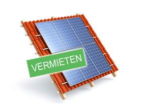 Dachfläche vermieten für Photovoltaikanlage oder Solaranlage