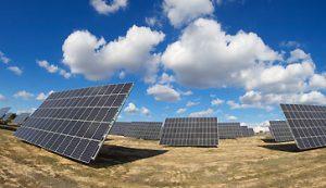 Freiflächen Photovoltaik - Freiflächensolaranlage