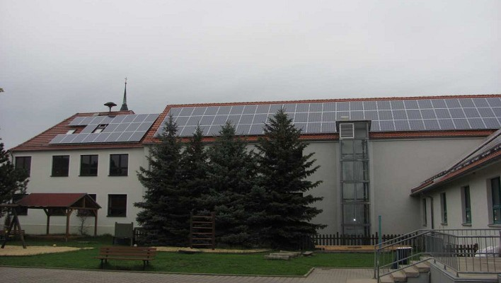 Bild 01 - Solaranlage in Skäßchen mit einer Leistung von 101 kWp