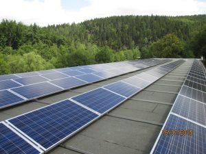 Solaranlage UTI GmbH in Zschopau (30 KWP)