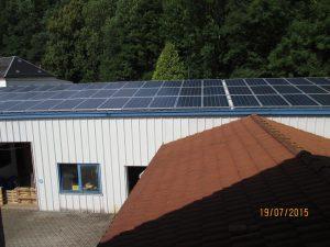 Solaranlage Ingenieurbüro Unger
